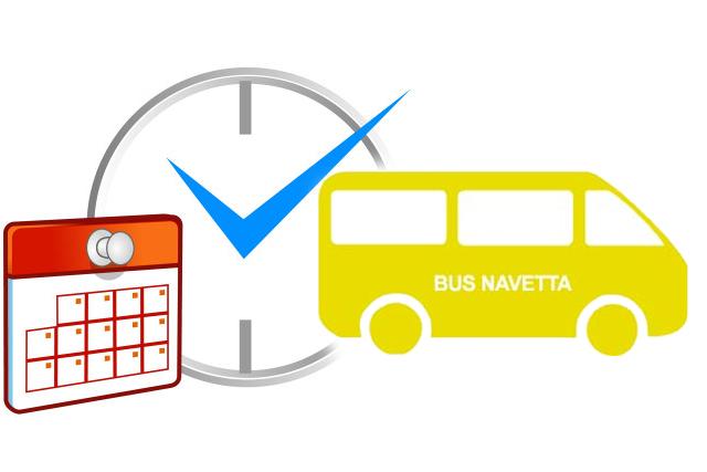 Avviso 'bus navetta'  Sas Murtas